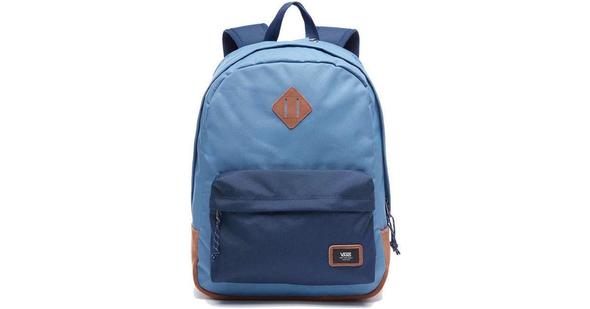 bc9dd46c5 Vans Mochila Old Skool Plus Mochila 2tmpdz Women's Backpack In Blue in Blue  for Men - Lyst