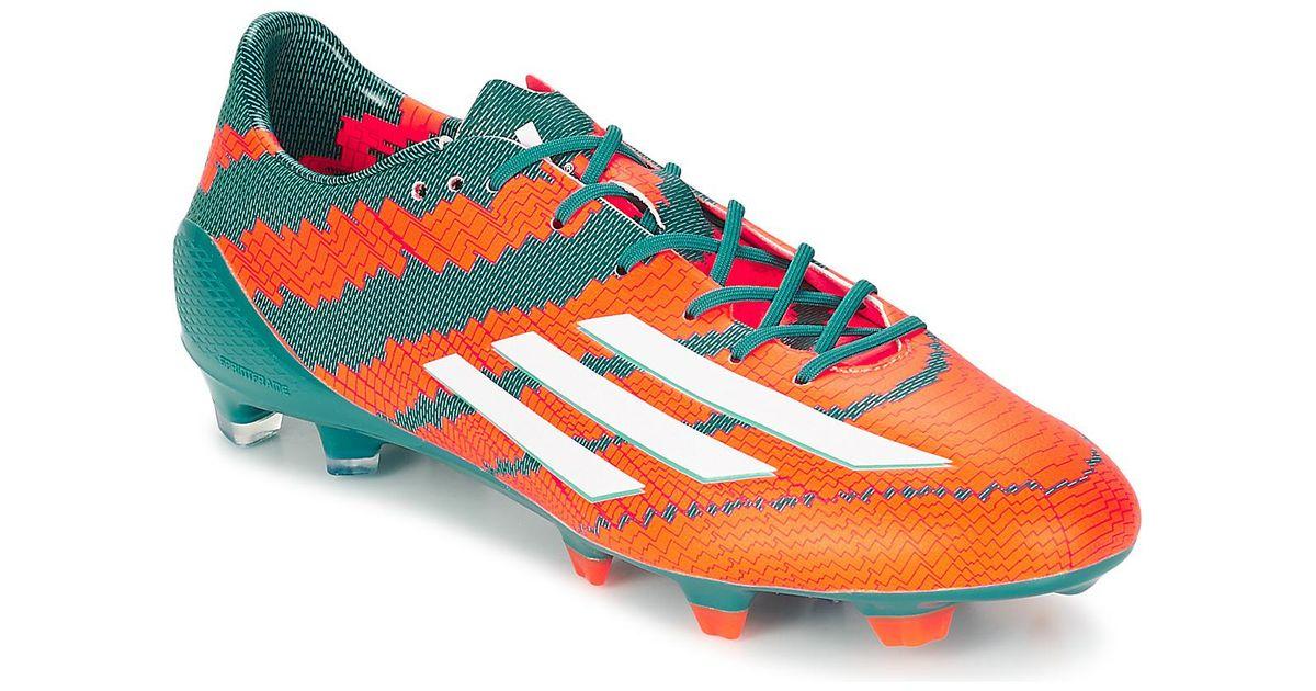 Adidas Messi FG hombre botas de fútbol en Orange en Orange para