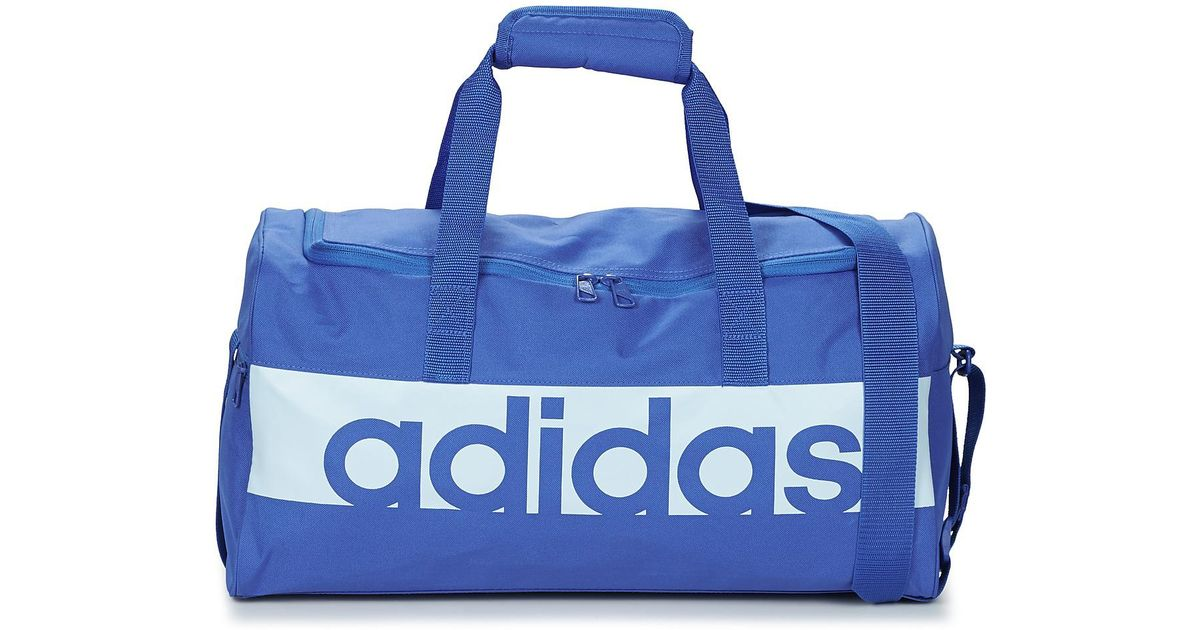 28a1a88d2cce Adidas Linear Teambag Small Women s Sports Bag In Blue in Blue for Men -  Lyst
