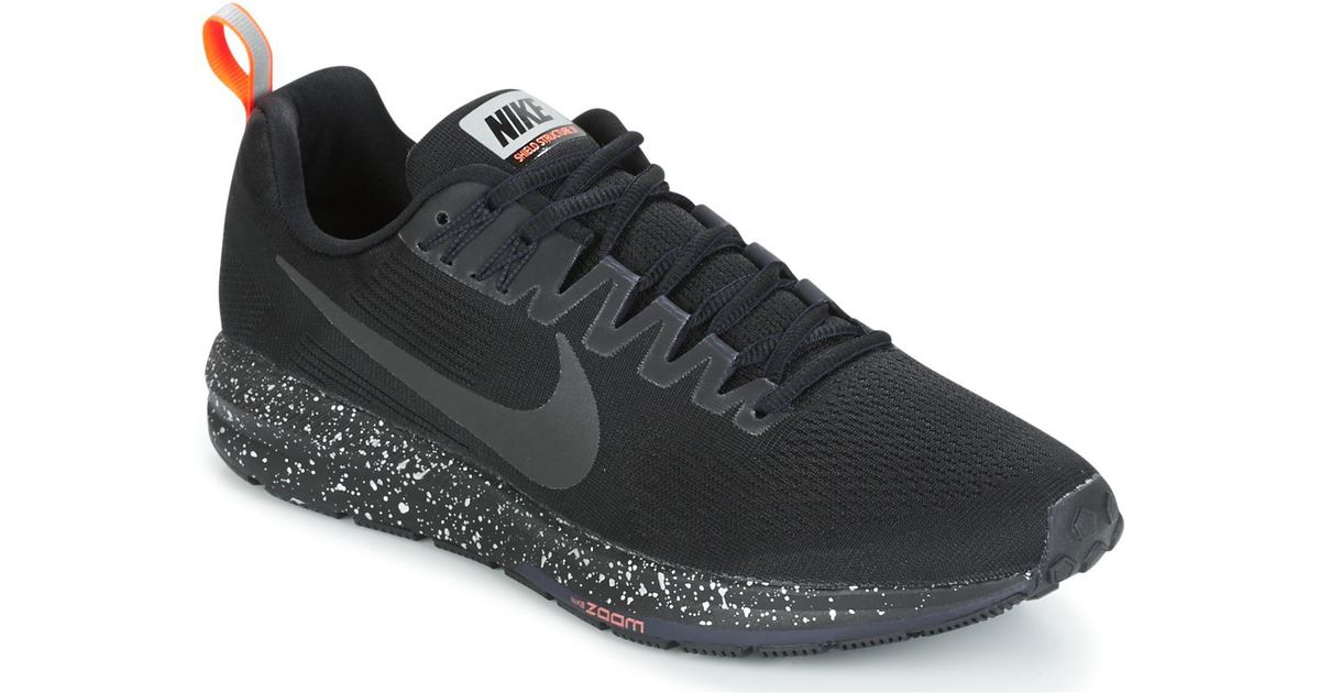 Nike Air Zoom Structure 21 Shield Men s Running Trainers In Black in Black  for Men - Lyst 9704d27c4
