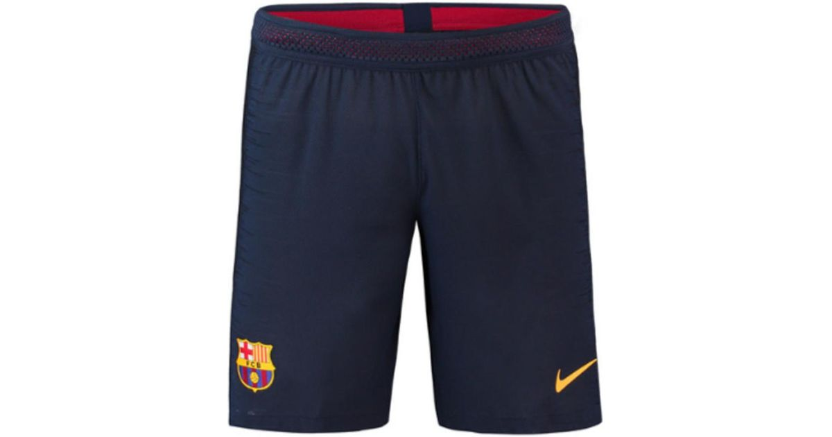 size 40 17ca0 f791f Nike 2018-2019 Barcelona Home Vapor Match Shorts Women s Shorts In Blue in  Blue - Lyst