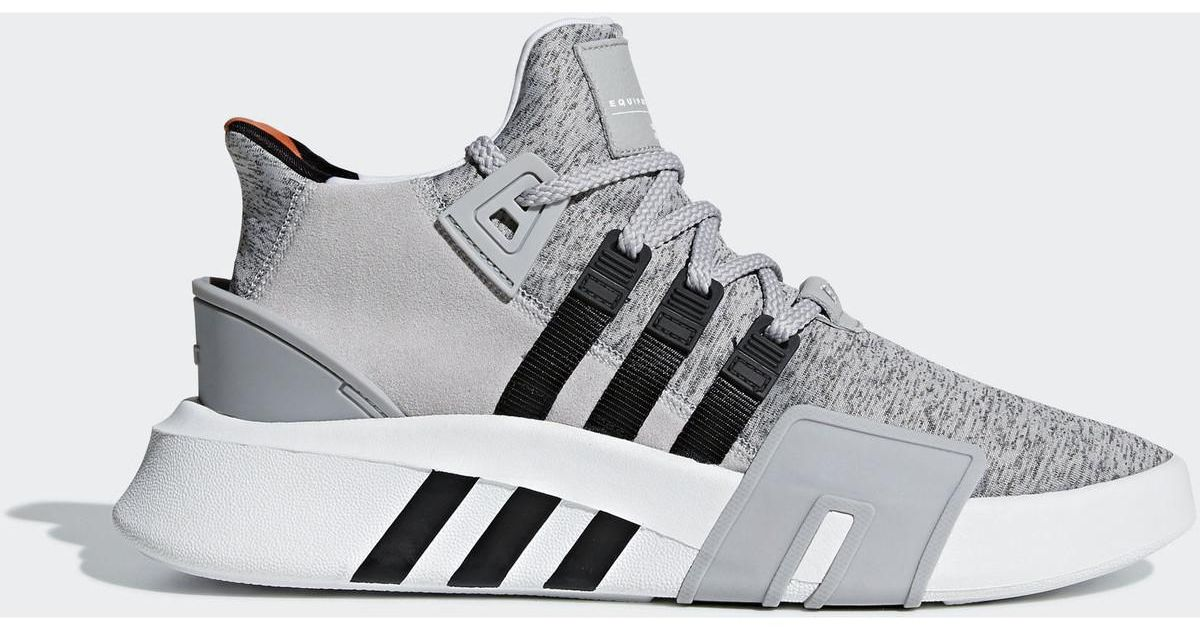 Eqt Femmes Gris Bask Chaussures En Lyst Adidas Chaussure Gray Adv N8m0nw