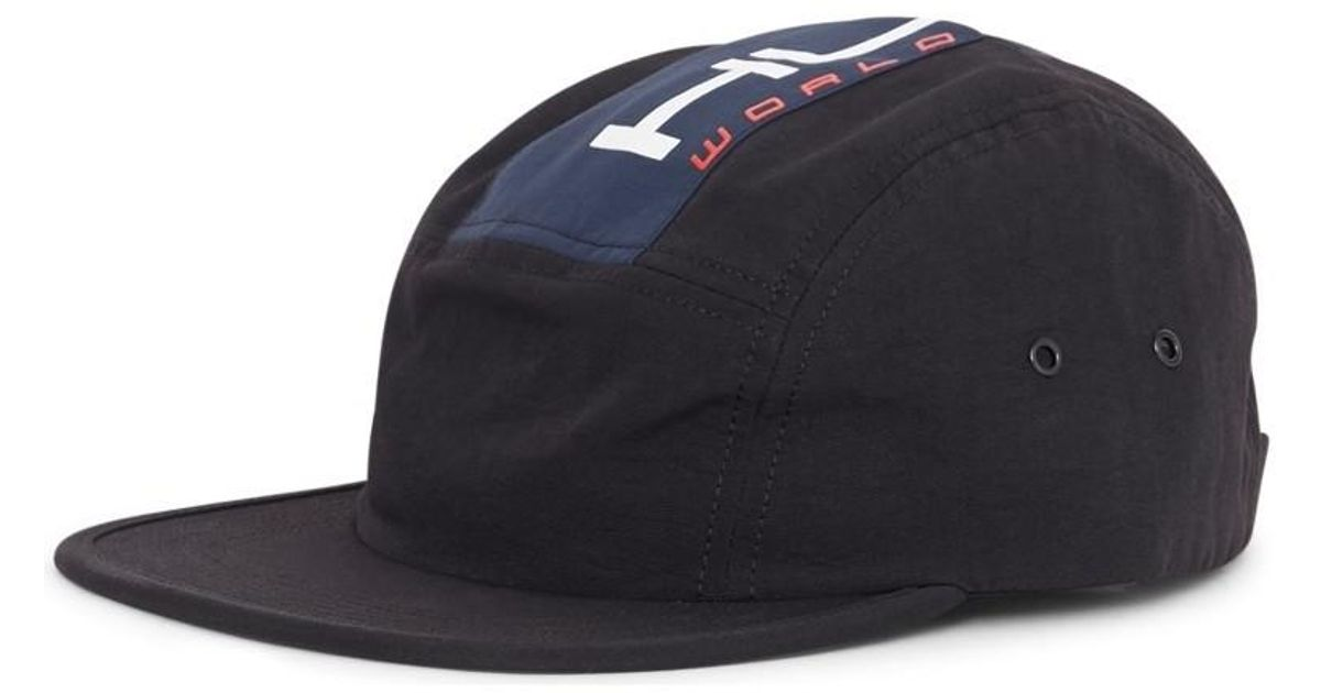 f0588123d697f Huf Palisades Volley Hat Black Men s Cap In Black in Black for Men - Lyst