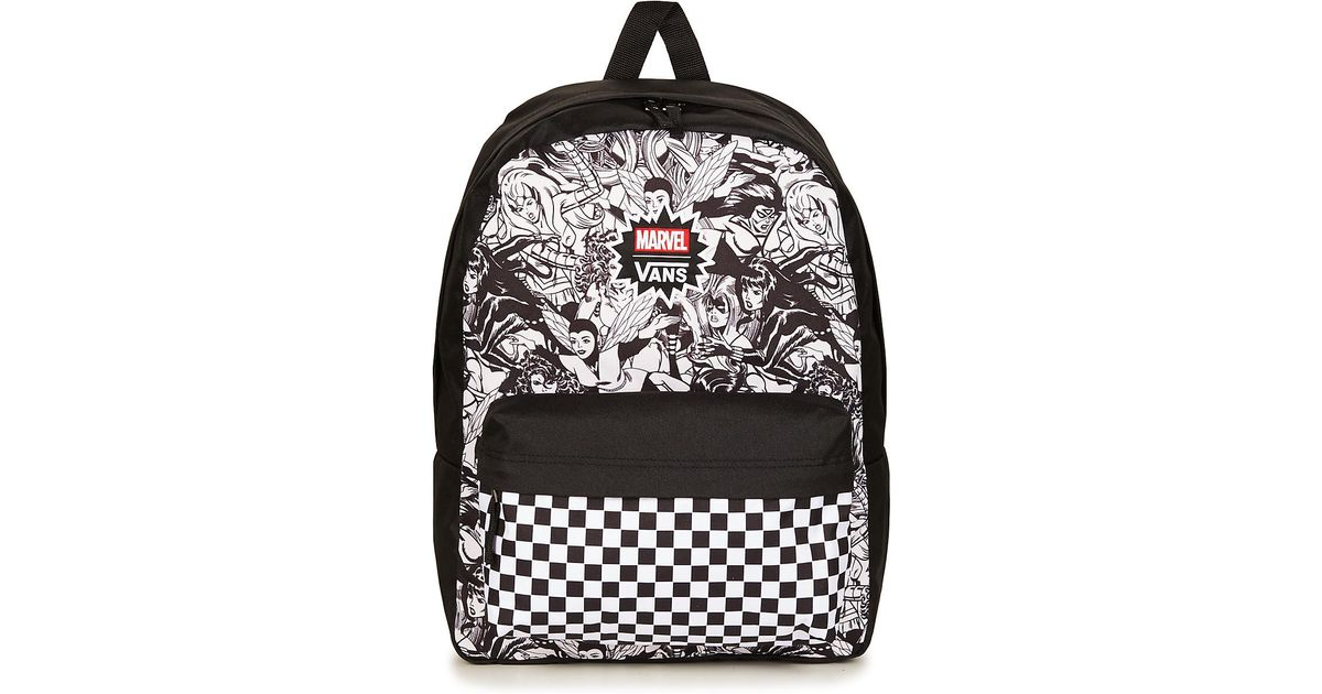 a148ac6947eea2 Vans Marvel Women Realm Backpack Men s Backpack In Black in Black for Men -  Lyst