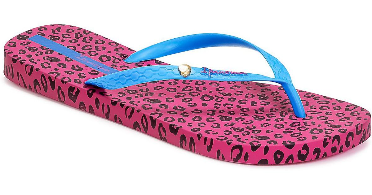 d2cae96b4e52ee Ipanema Animal Print Women s Flip Flops   Sandals (shoes) In Multicolour -  Lyst