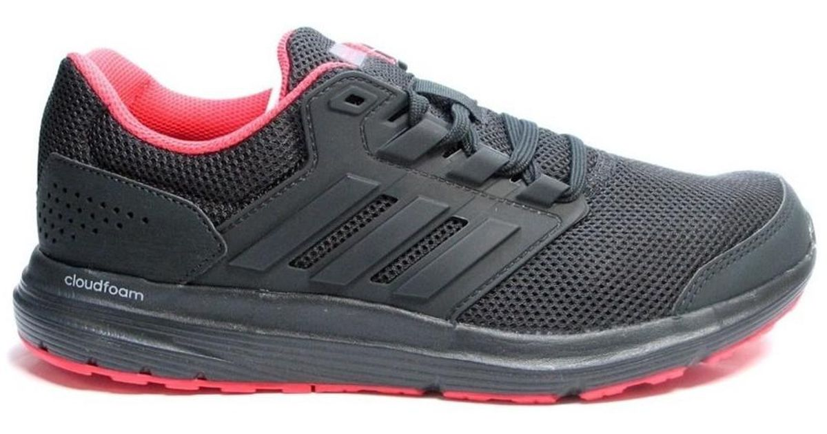 best service 1adf0 2aeb4 adidas Galaxy 4 W Women s Shoes (trainers) In Black in Black - Lyst