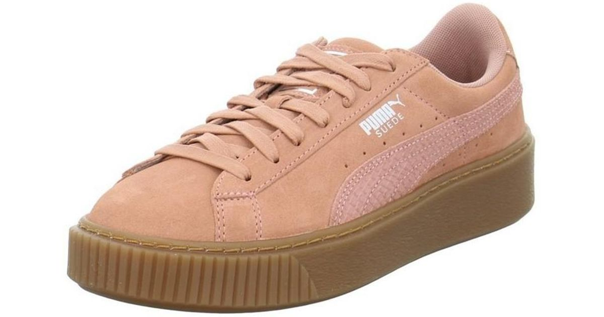 e30e6524044 PUMA Suede Platform Animal Men s Shoes (trainers) In Pink in Pink for Men -  Lyst