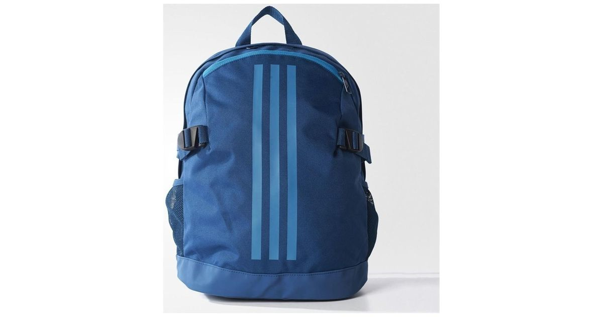 22155faa49f Adidas Originals 3stripes Pwer Men s Backpack In Multicolour in Blue for  Men - Lyst