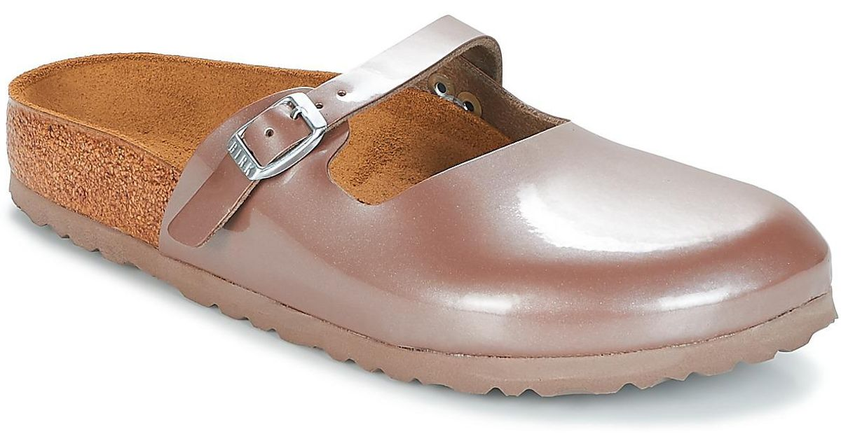 e6a023824d4d Birkenstock Maria Mules   Casual Shoes in Pink - Save 15% - Lyst