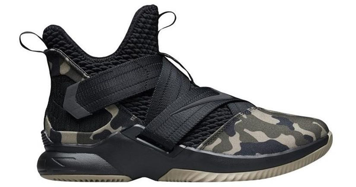 a486e77dceeba Nike Lebron Soldier 11 Sfg Men s Shoes (high-top Trainers) In Black in  Black for Men - Lyst