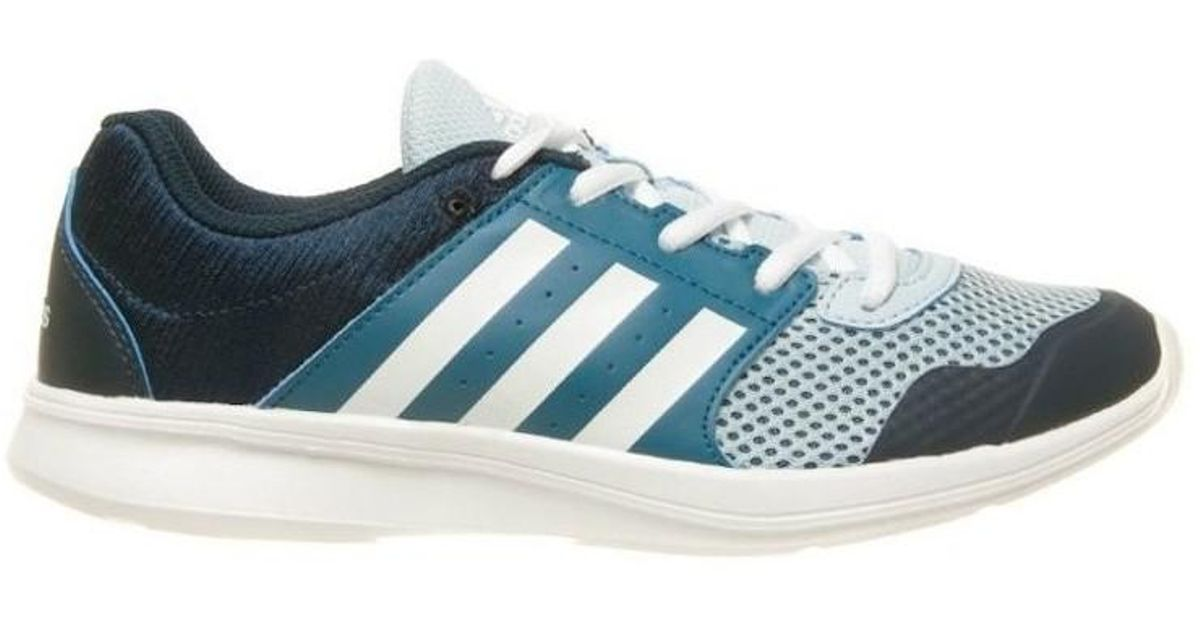 hot sale online 5607d 05cdf adidas Essential Fun Ii W Womens Shoes (trainers) In Multicolour in Blue -  Lyst