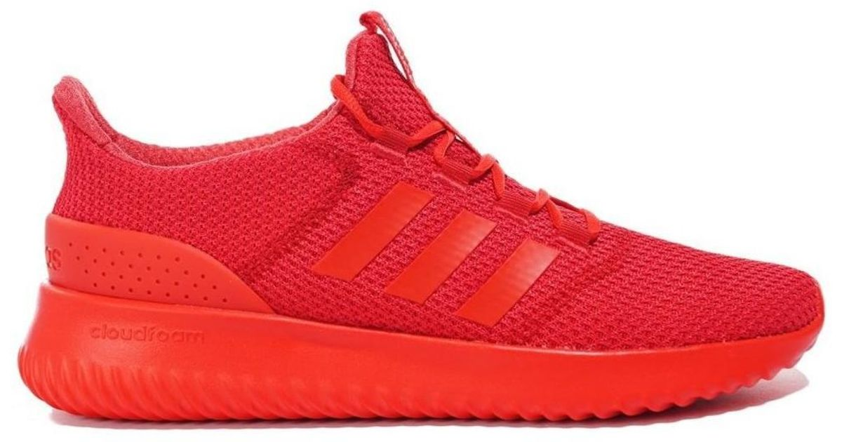 official photos 64927 304fc adidas Cloudfoam Ultimate Mens Shoes (trainers) In Red in Red for Men -  Lyst