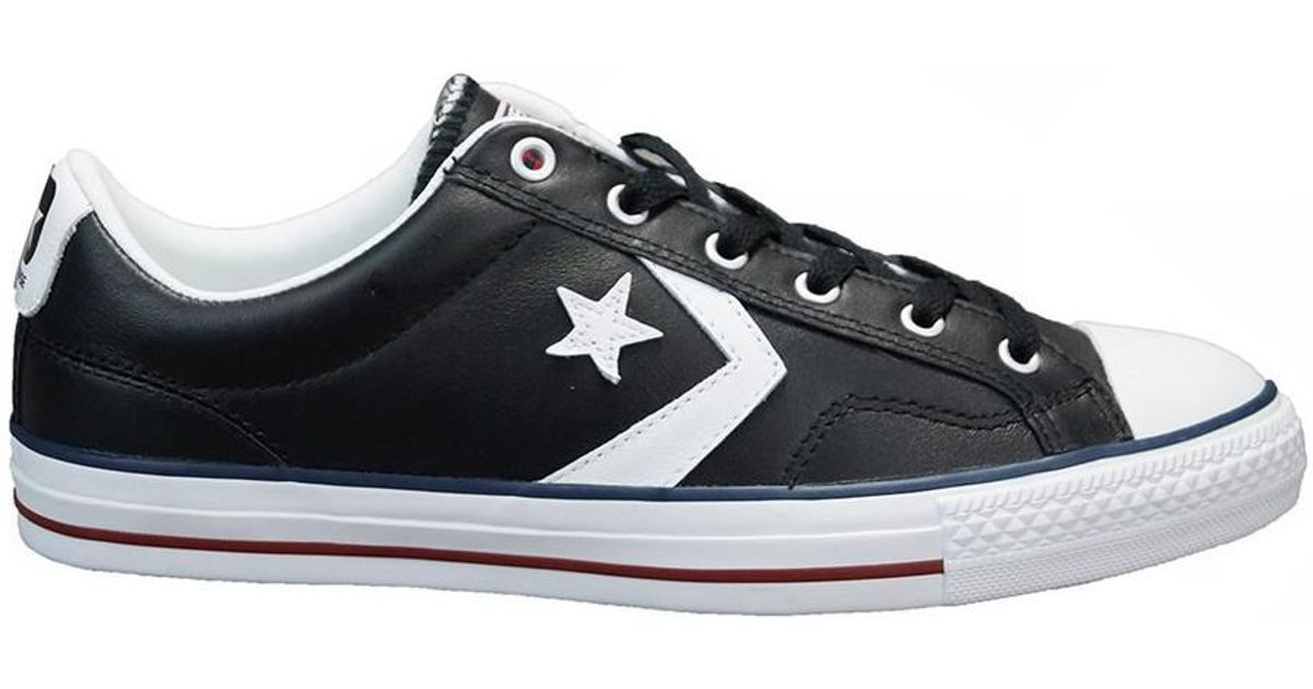 22f3eea0460 Converse Star Player Ev Men s Shoes (trainers) In Black in Black for Men -  Lyst