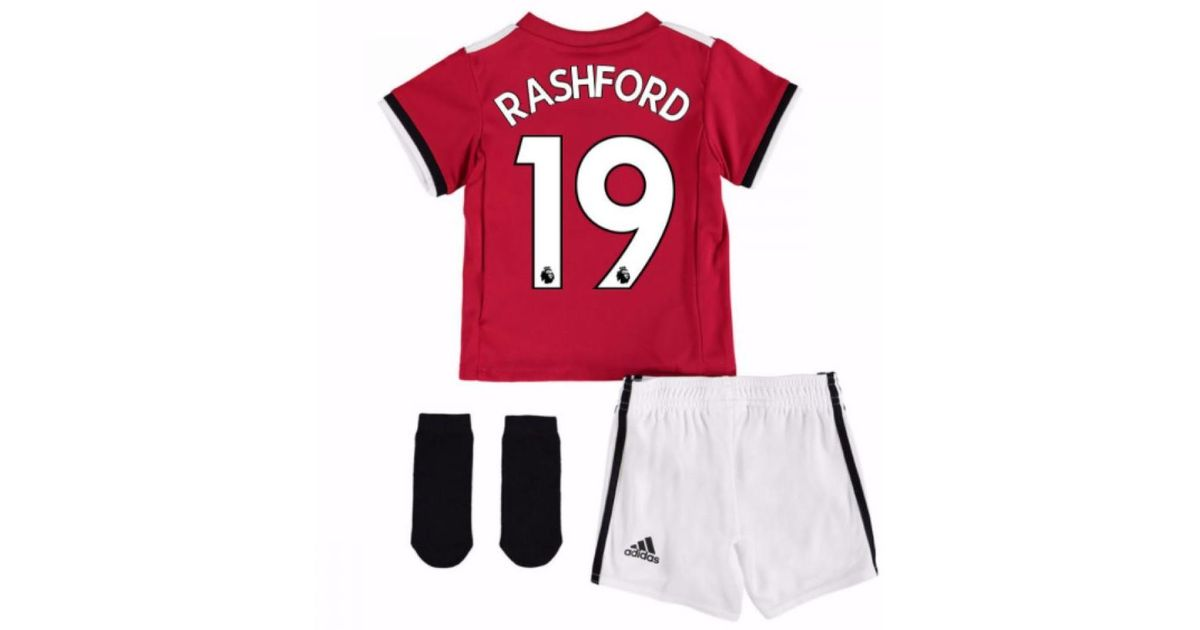 a53681d8 adidas 2017-2018 Man United Home Baby Kit (rashford 19) Boys's In Red in  Red for Men - Lyst
