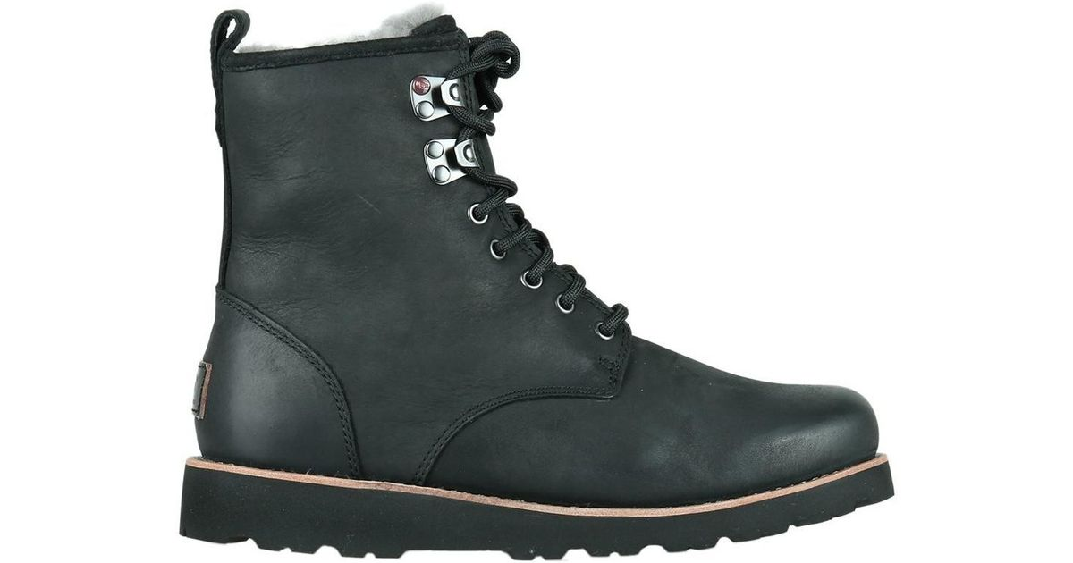 999e49ff377 Ugg Hannen Tl Men's Snow Boots In Black for men