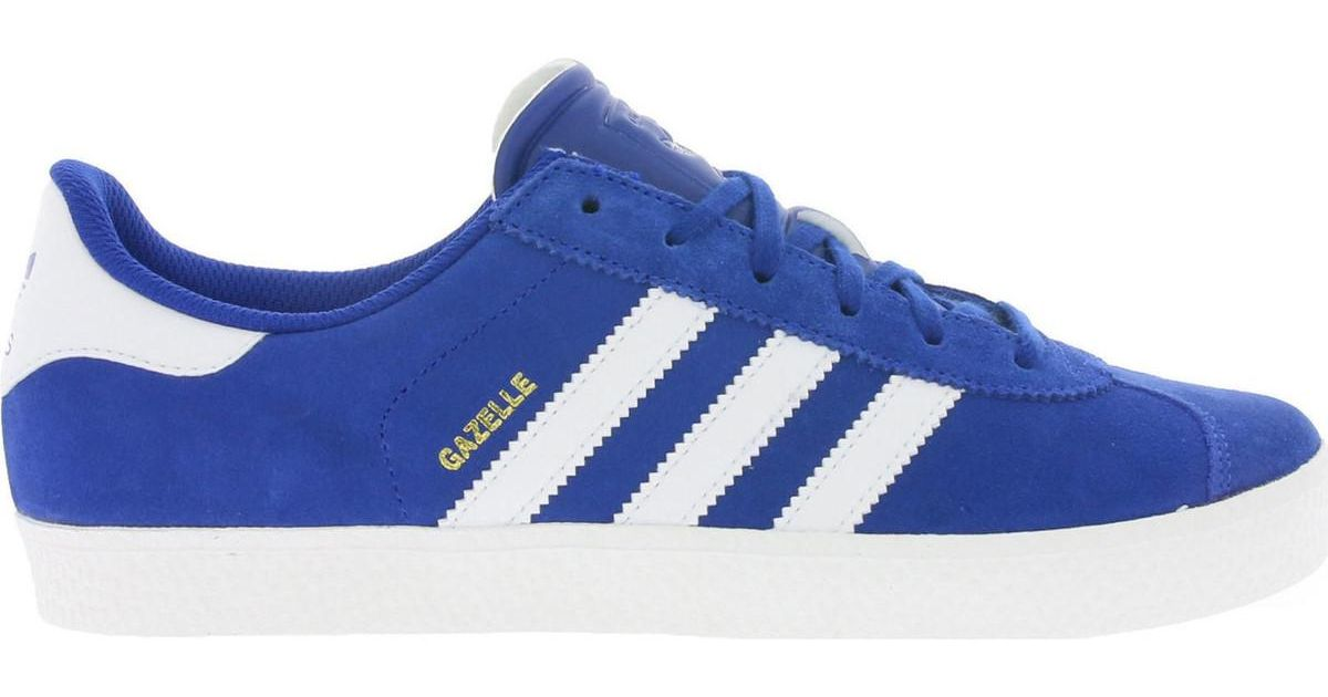 official photos ab7bf 3f2e3 Adidas Gazelle 2 J Mens Shoes (trainers) In Blue in Blue for