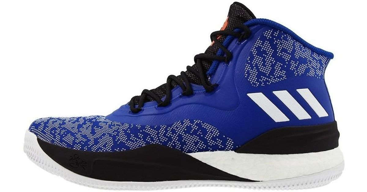 quality design 6752f 4ff79 Adidas D Rose 8 Men s Shoes (high-top Trainers) In Blue in Blue for Men -  Lyst