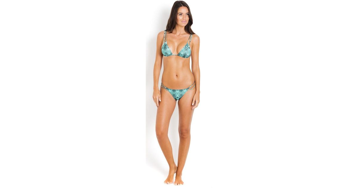 For Sale Buy Authentic Online Great Deals Snake Piercing Triangle Bikini Top VIX Paula Hermanny VIX PAULAHERMANNY Cheap Sale Cheap Sale Discounts Best Cheap Online fjuSM6q