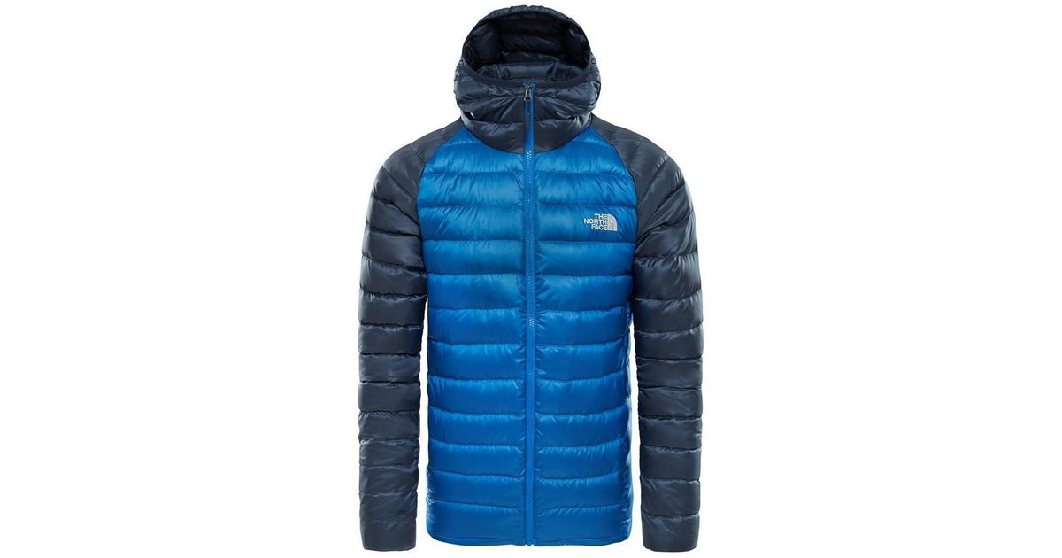 69cf4f2f98 The North Face Trevail Hoodie Turkish Seau Men's Jacket In Blue in Blue for  Men - Lyst