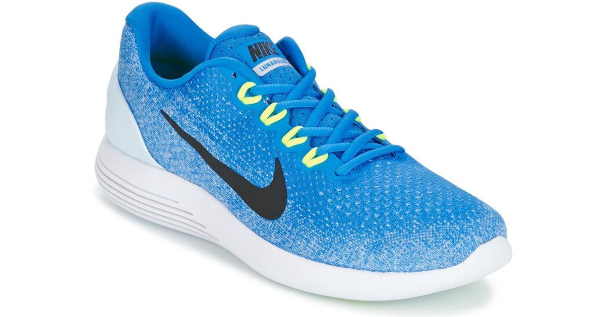 best loved 54b93 29b06 Nike - Lunarglide 9 Men's Running Trainers In Blue for Men - Lyst