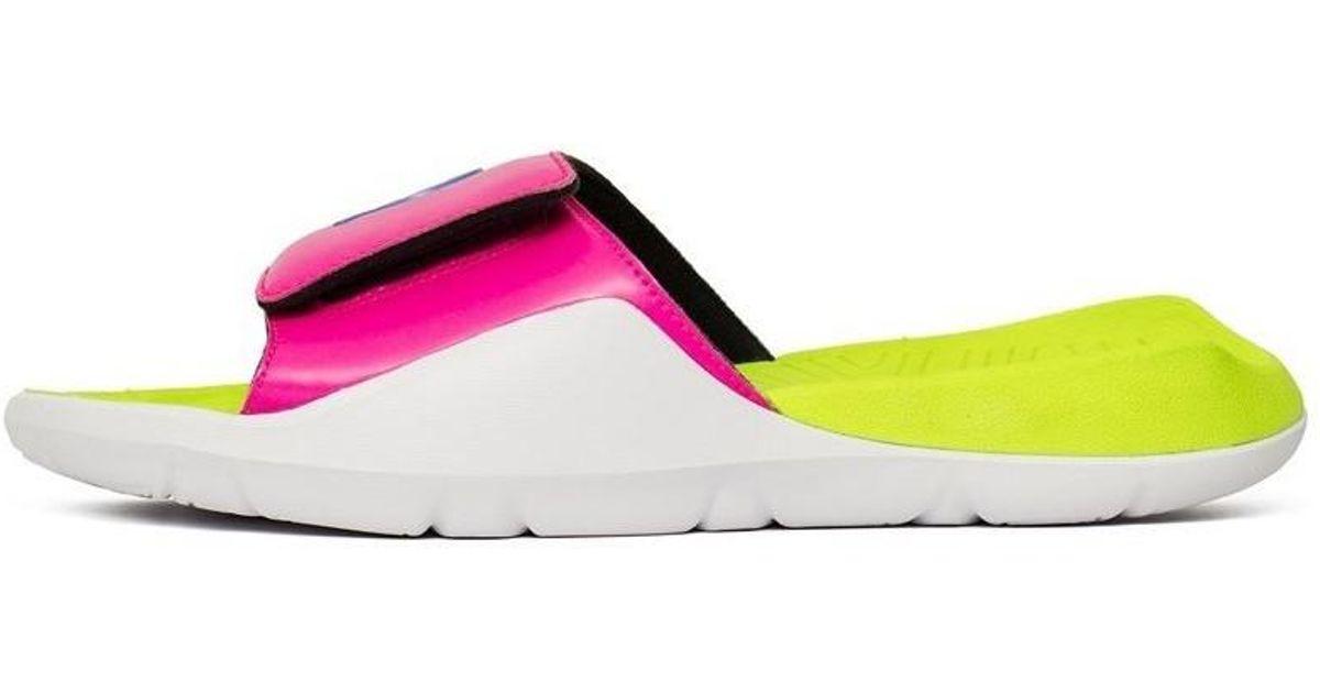 52fd8bd16148 Nike Jordan Hydro 7 Q54 Men s Mules   Casual Shoes In White in White for Men  - Lyst