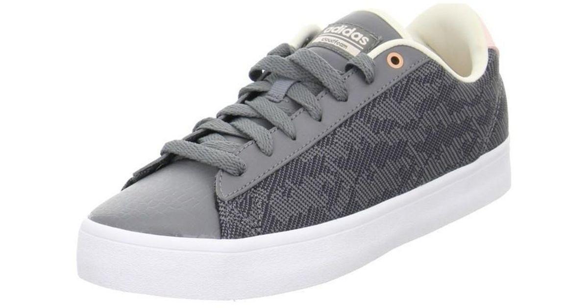adidas cf täglich qt - cl w damen sneaker männer - schuhe (ausbilder) in grau