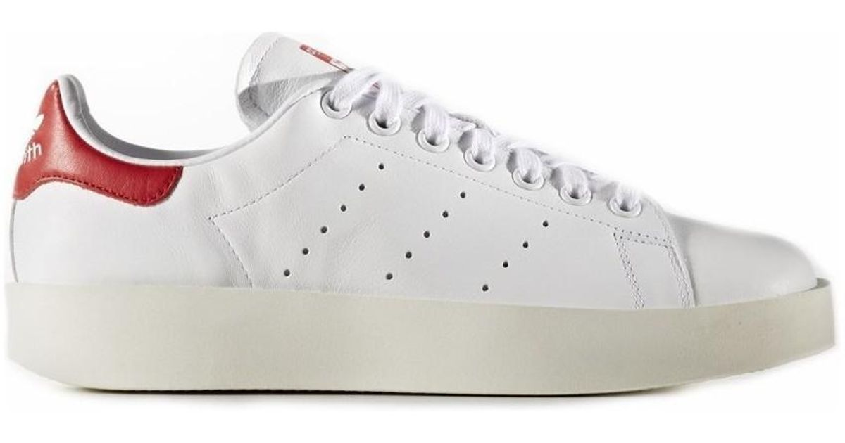 Adidas - Stan Smith Bold W Women's Shoes (trainers) In Red - Lyst