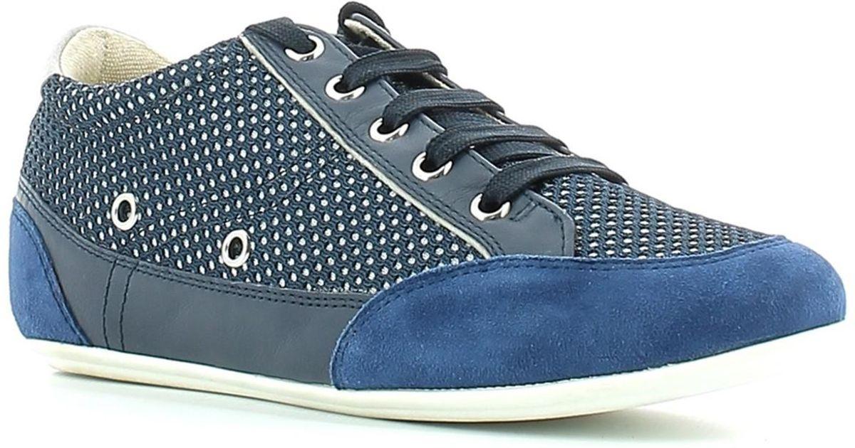 672a78ff16096 Lumberjack 2728 M11 Sneakers Women Navy Blue/silver Women's Shoes  (trainers) In Multicolour in Blue - Lyst