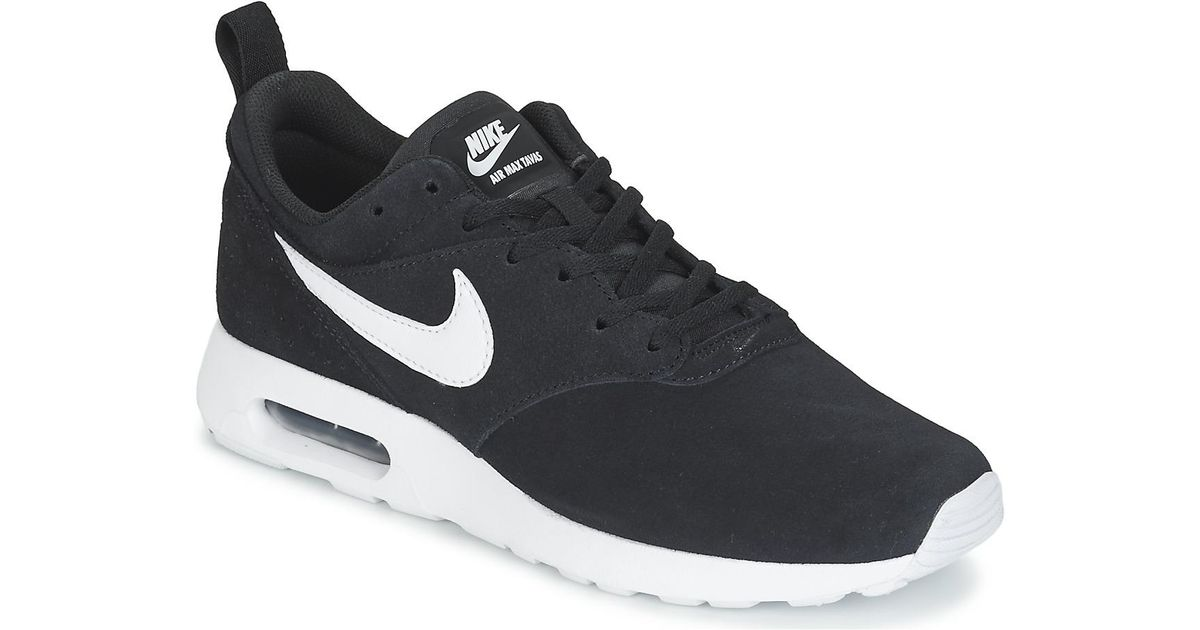 2ae82632076b0 Nike Air Max Tavas Leather Men's Shoes (trainers) In Black in Black for Men  - Lyst
