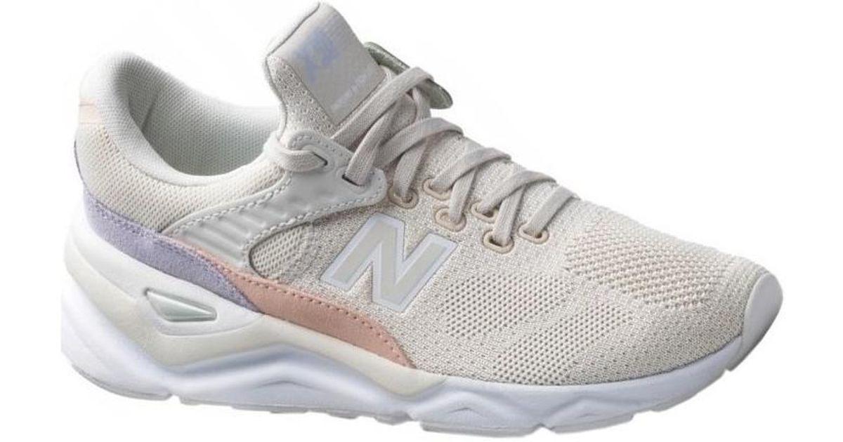 In New Shoes Women's Natural Wsx90txa Beige trainers Lyst Balance pX7Faqwz