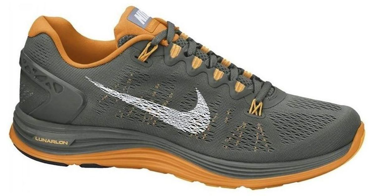 bcfb27d06466 Nike Lunarglide 5 Men s Running Trainers In Beige in Natural for Men - Lyst