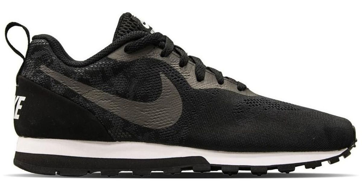 newest 4d5ce 76dcf Nike Md Runner 2 902858 001 Womens Shoes (trainers) In Black in Black -  Lyst