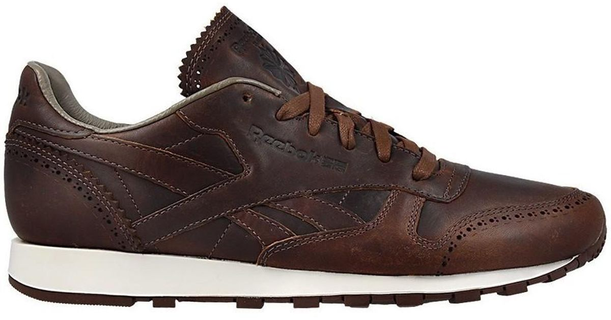 Reebok Sport Chaussures CL Leather Lux Horw Justgolden Brownch Reebok Sport