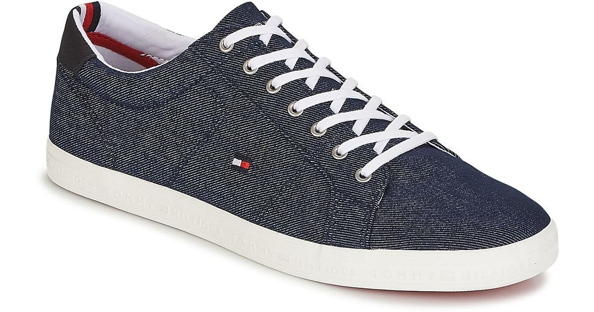 583261b6b Tommy Hilfiger Howell 1 Men s Shoes (trainers) In Blue in Blue for Men -  Save 9% - Lyst