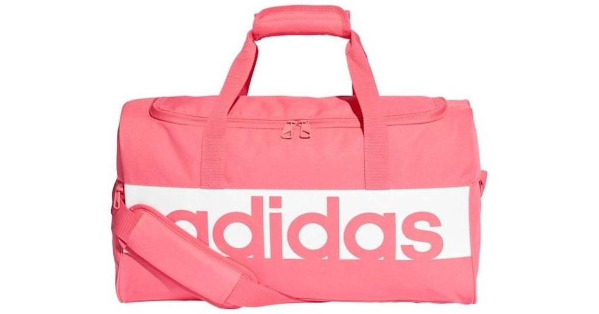a0e4a37a7fb4 adidas Lin Per Tb S Women s Sports Bag In Multicolour in Pink for Men - Lyst
