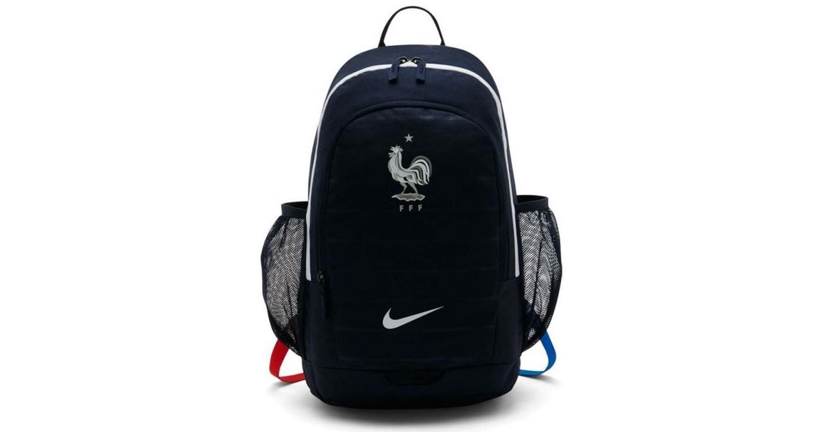 49f90de61d Nike 2018-2019 France Nk Stadiumpack (obsidian) Men's Backpack In Blue in  Blue for Men - Lyst. Francia France Nike Zaino Bag Backpack tg Unisex  STADIUM ...