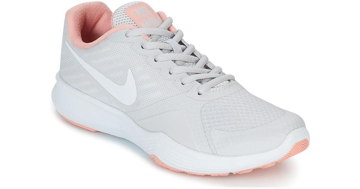 fce602fea44b Nike City Trainer W Women s Sports Trainers (shoes) In Grey in Gray - Lyst