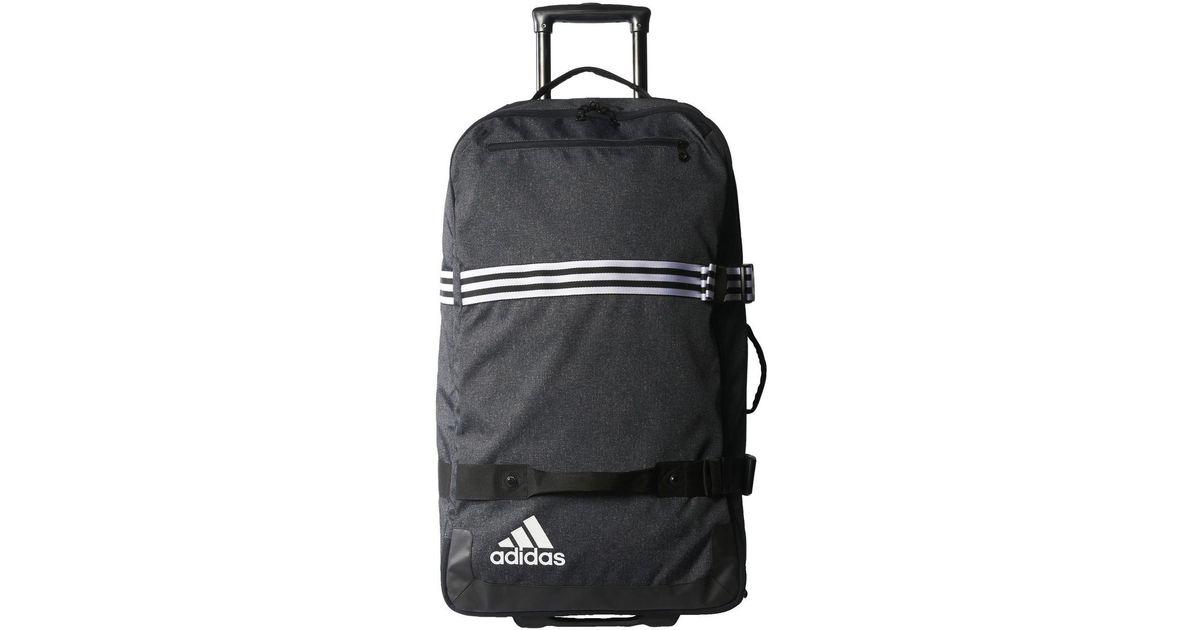 cfe5737c75 Sac de voyage Sac à roulettes Team Travel Grand format adidas pour homme en  coloris Noir - Lyst