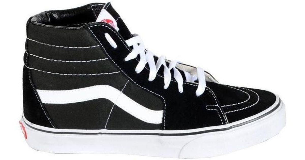 Vans Sneakers High Tops Sk8-hi Black   White Women s Shoes (high-top  Trainers) In Black in Black - Lyst e86791534