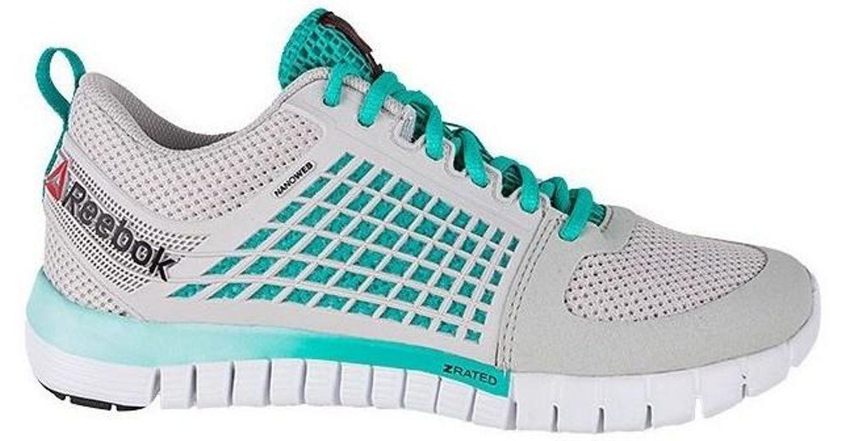 Reebok Gray Z Run Zquick 2 Women's Shoes (trainers) In Grey Lyst