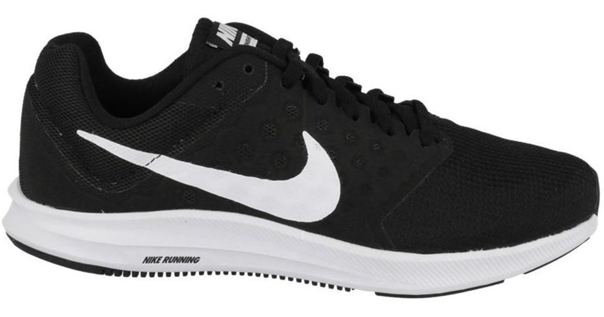 18e3a85d4c5c Nike Wmns Downshifter 7 Women s Running Trainers In Black in Black - Lyst