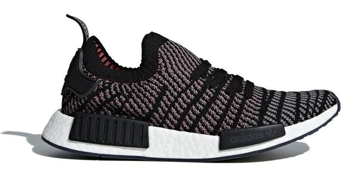promo code 7ec56 d0957 Adidas - Nmd R1 Men's Shoes (trainers) In Black for Men - Lyst