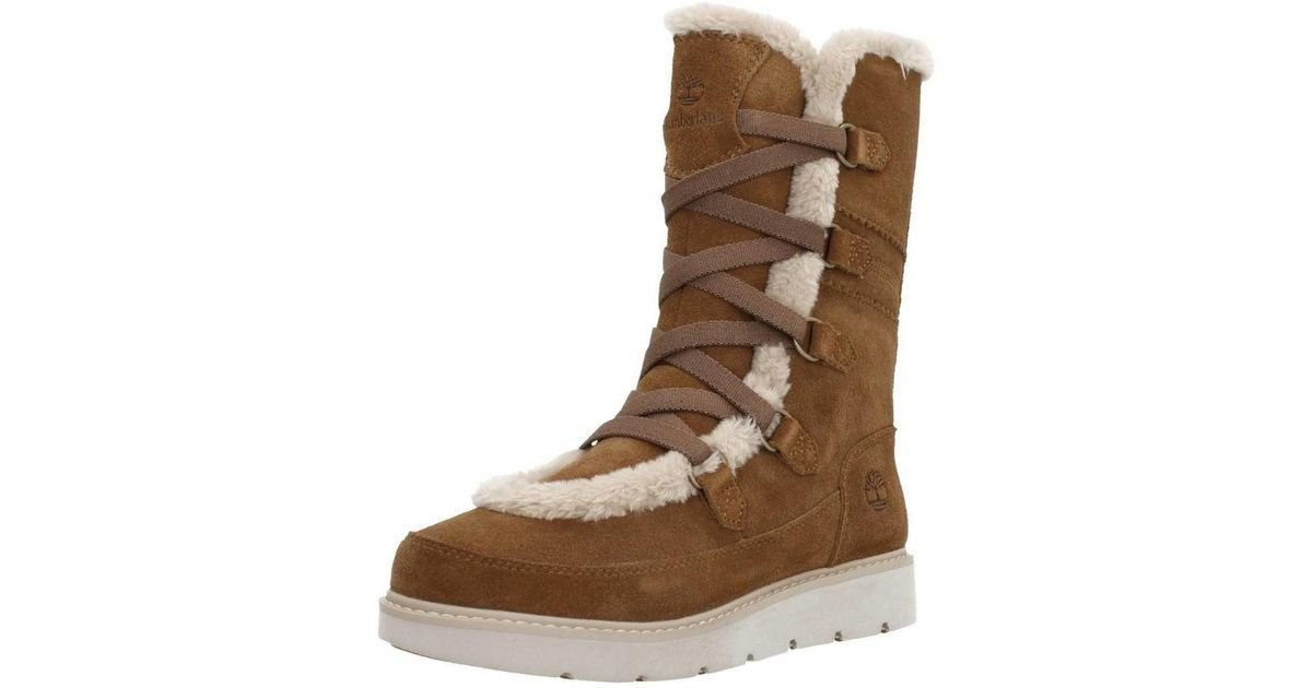Timberland Kenniston Muk Tall Women s Snow Boots In Brown in Brown - Lyst 9c3e0c2e8de7