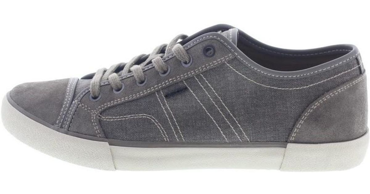 804d7d5cd9e Geox Smart Men's Shoes (trainers) In Grey in Gray for Men - Lyst