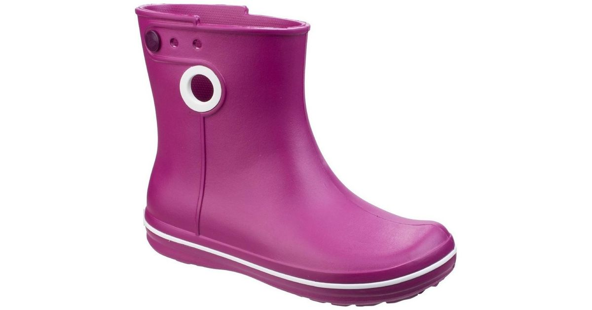 cbdc1c1c8ce0 Crocs™ Jaunt Shorty Boot in Purple - Lyst