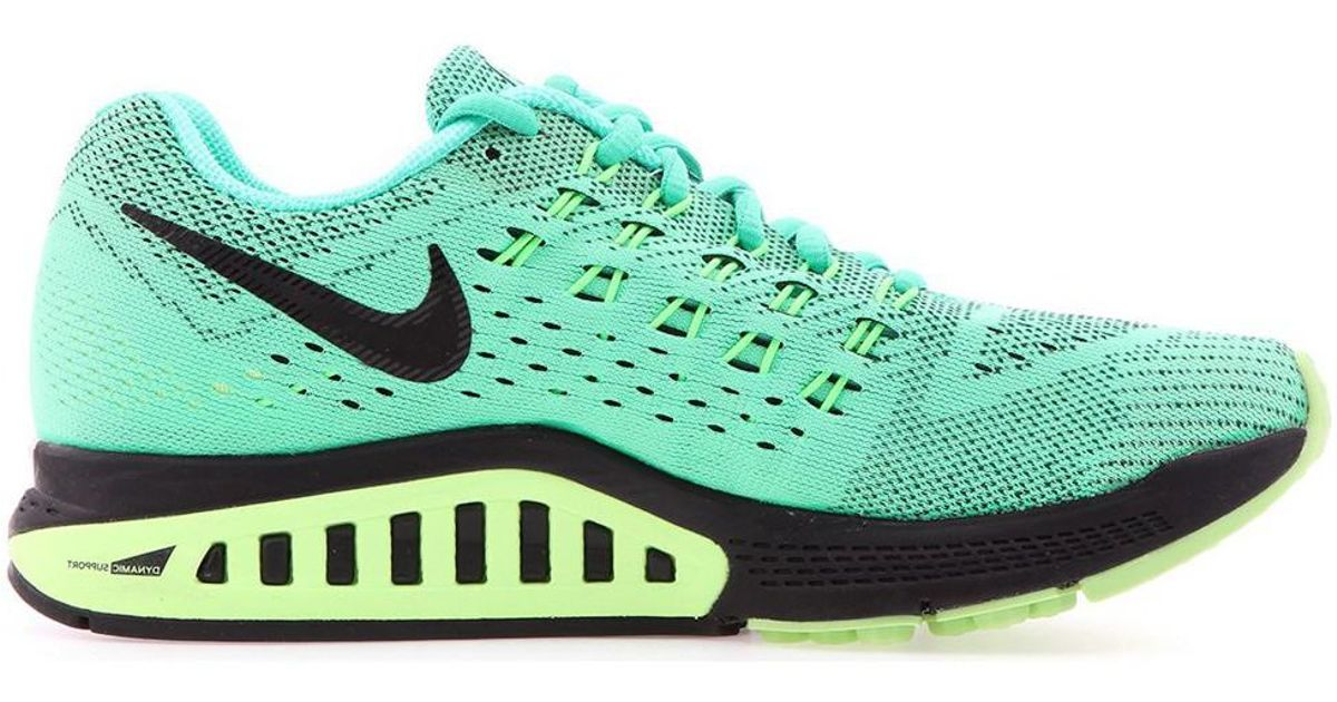 3bd2328a732 Nike Wmns Air Zoom Structure 18 Women s Shoes (trainers) In Multicolour in  Green - Lyst