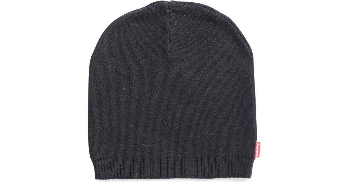Supreme Thin Skull Beanie Black (old Style) Men s Beanie In Black in Black  for Men - Lyst 429c9b4a2ae