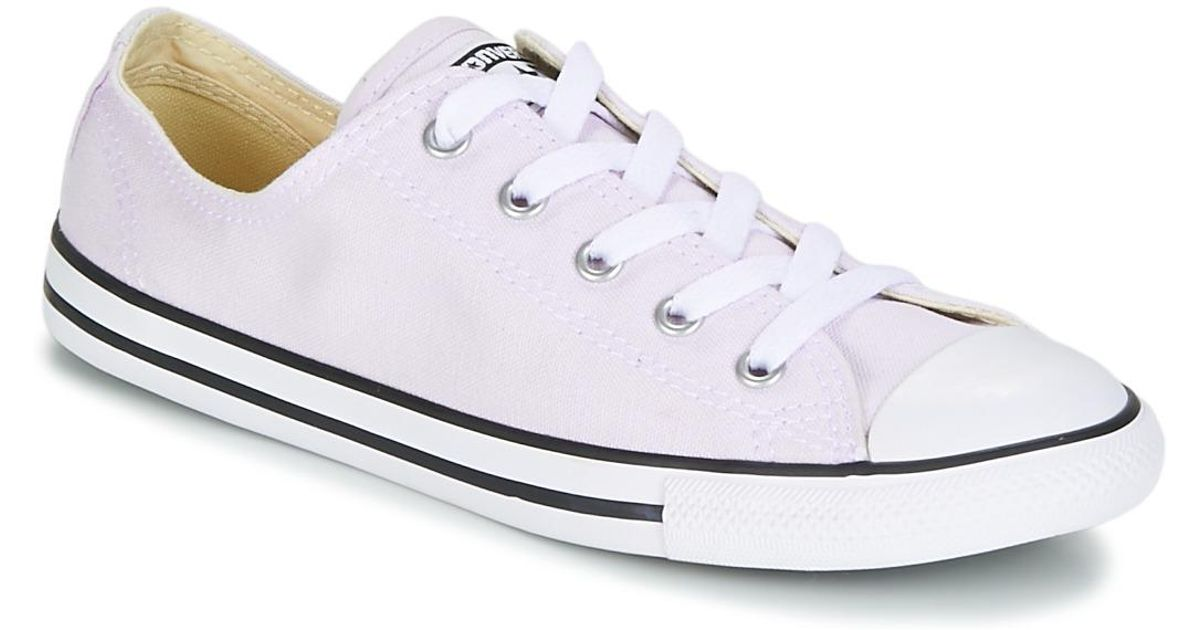 14a039a9f23a ... germany converse chuck taylor all star dainty ox canvas color womens  shoes trainers in white in