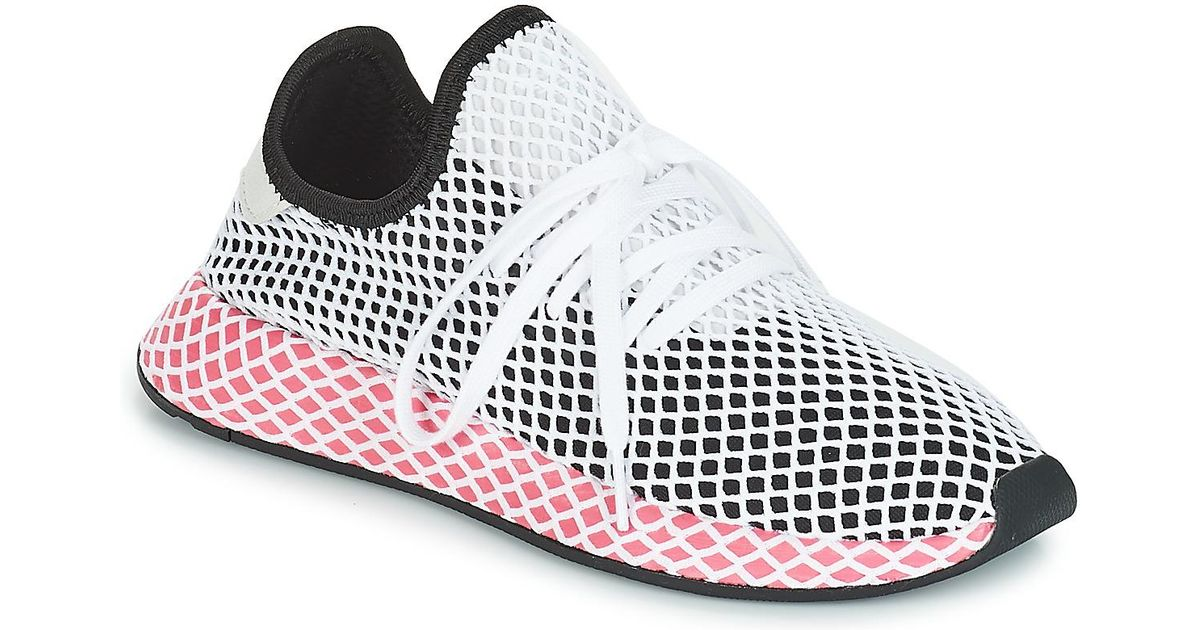 d21b2a8837230 adidas Deerupt Runner W Women s Shoes (trainers) In Multicolour - Lyst