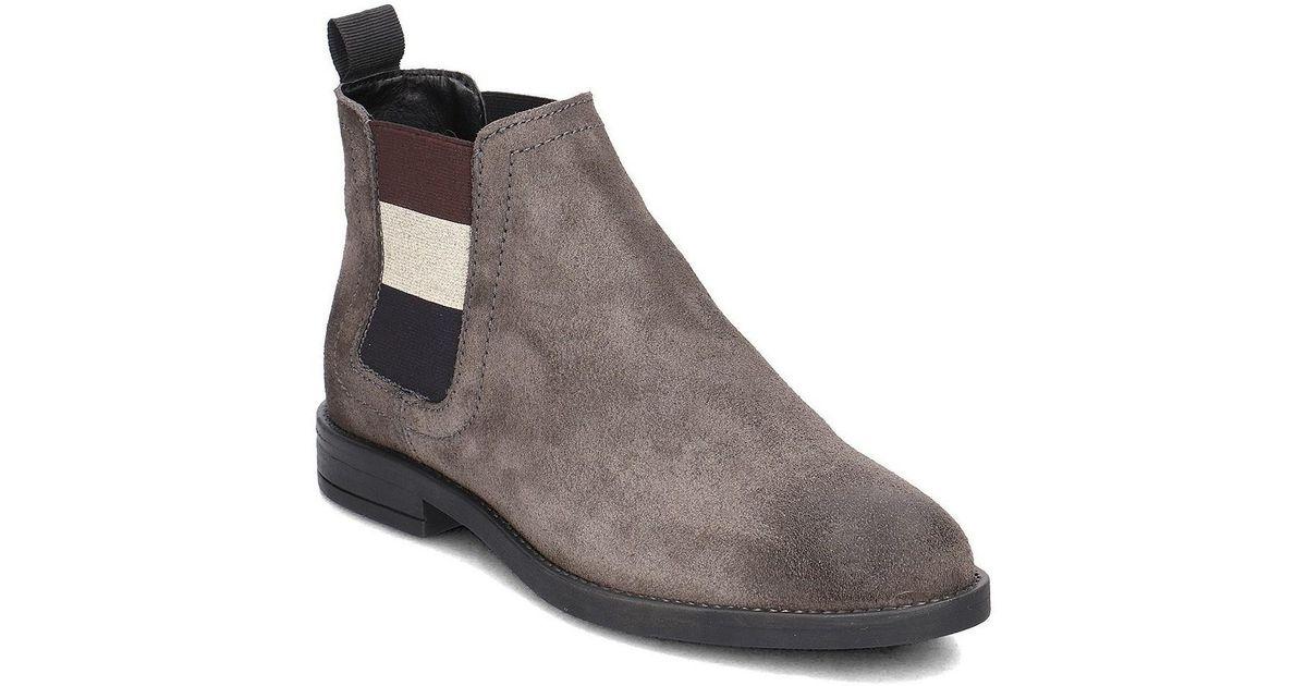 ba41a4773 Tommy Hilfiger En0en00305 Women s Low Ankle Boots In Multicolour in Brown -  Lyst